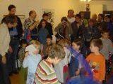 Aufführung der Kindergruppen